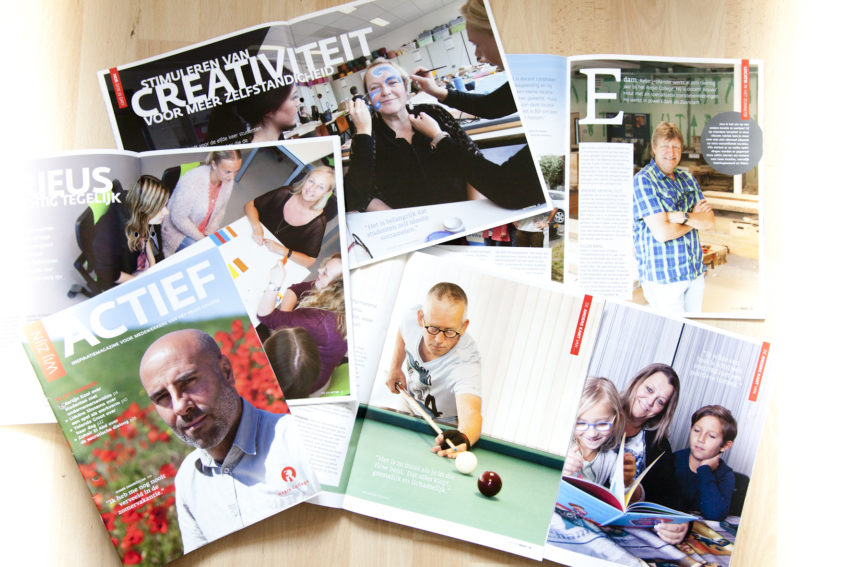 Redactionele fotografie voor het personeelsblad WijZijn van RegioCollege te Zaandam