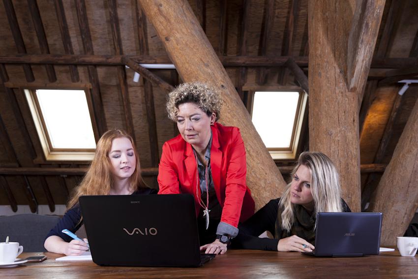 Bedrijfsreportage fotografie voor Media bedrijf in Heerhugowaard.