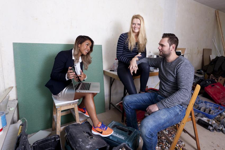 Reclame fotografie Rabobank Alkmaar voor Wonen campagne in 2017