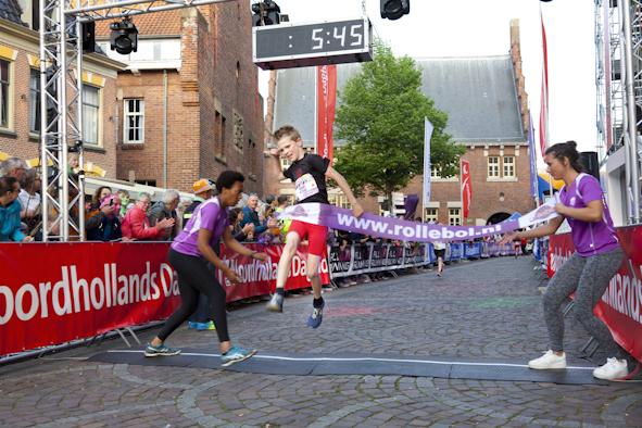 Reportage fotografie voor Dichterbij Rabobank Alkmaar eo van de Alkmaar Cityrun bij Night