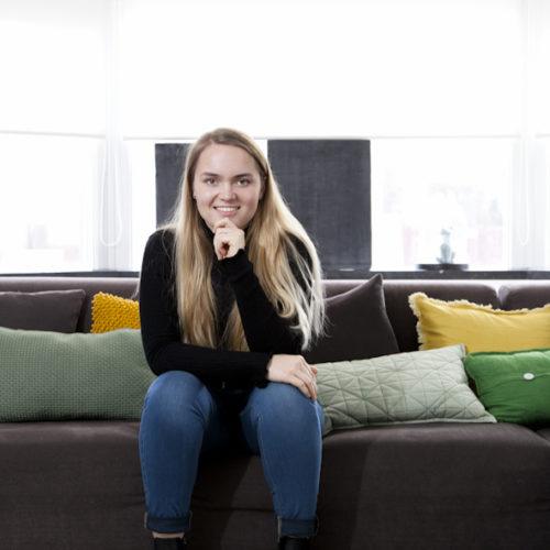 Portret foto van Jongere voor Stief MV als begeleiding bij een interview